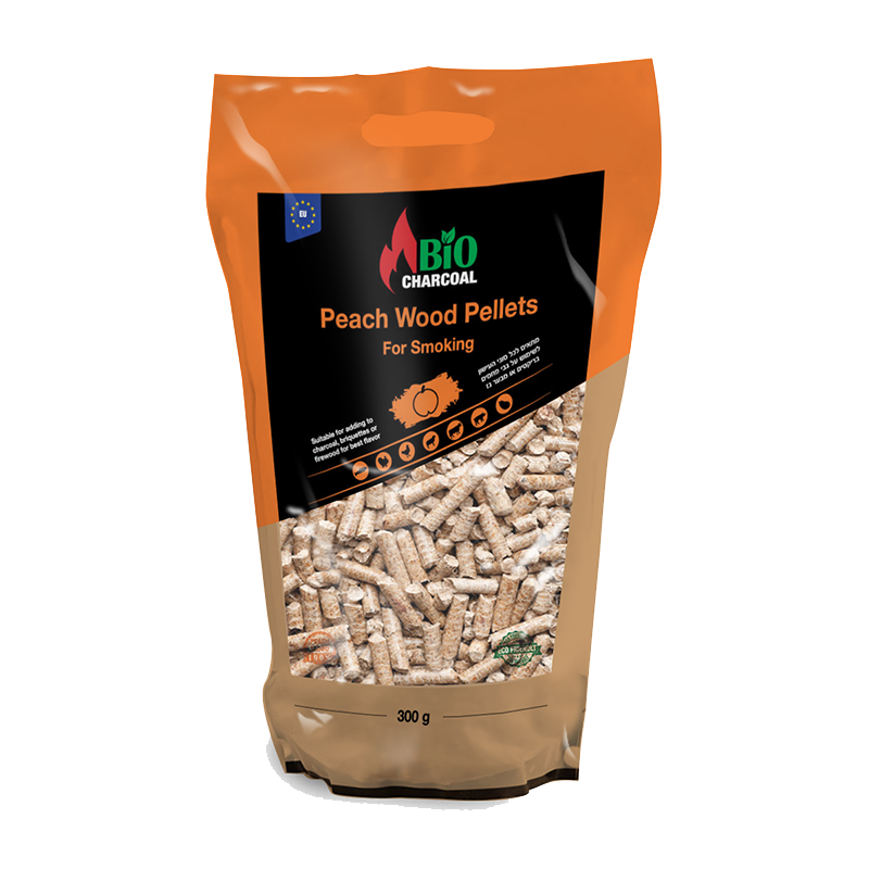 Peach Wood Pellets 300 g